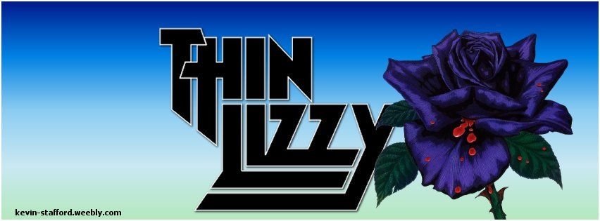 Thin Lizzy facebook cover